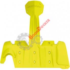 860201146 Защита днища Extreme ярко желтая для снегоходов Ski-Doo REV-XM/XS 860201145/860200606/860201033/860201032/860200742/860200741
