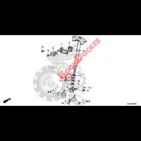 90603-HN2-000 Кольо стопорное рулевого вала для квадроциклов Honda TRX 90603-HN2-000