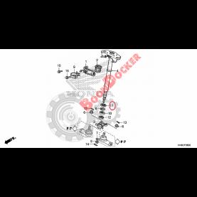 91255-HN8-003 Сальник 30X44X9 рулевого вала для квадроциклов Honda TRX 91255-HN8-003