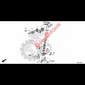 91257-KY4-900 Сальник 27X37X5 рулевого вала для квадроциклов Honda TRX 91257-KY4-900